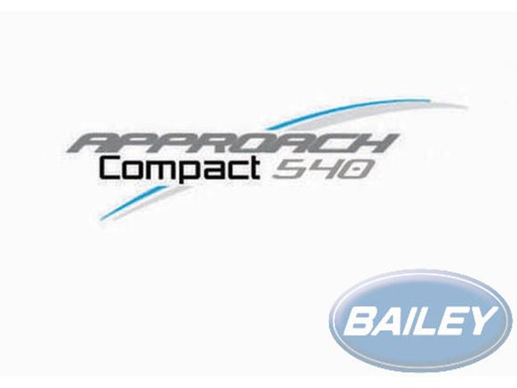 Approach Compact 540 N/S & Rear Decal product image