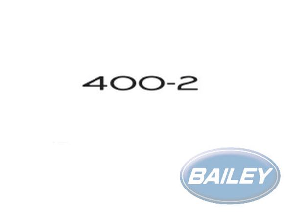 Pursuit 400-2 Decal product image