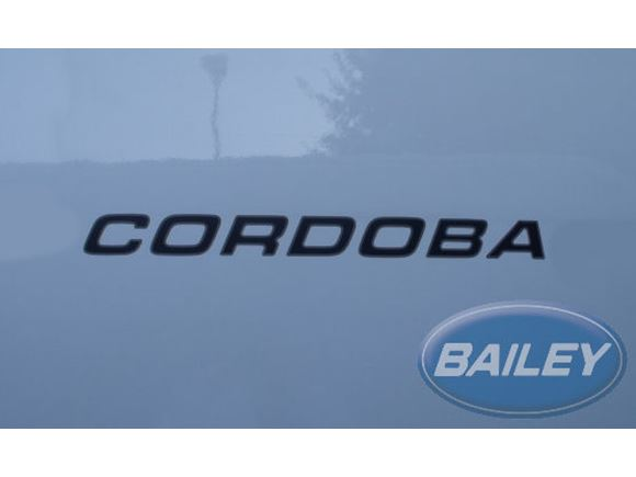 Unicorn III Cordoba Name Decal product image