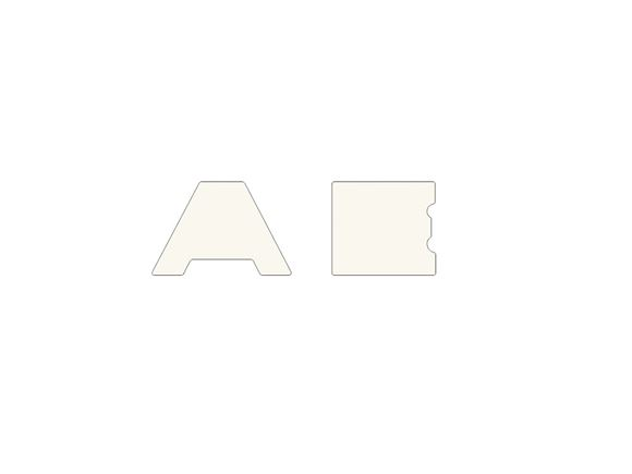 A & E Bumper Decal Backplates product image