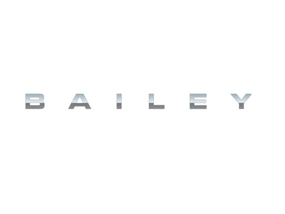 Chrome BAILEY Name Decal product image