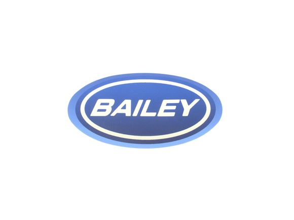 Pegasus IV N/S & O/S Bailey Oval Decal 99x57mm product image