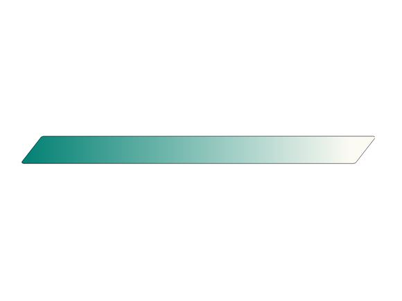 Pursuit II Side Mid Turquoise Blue Stripe product image