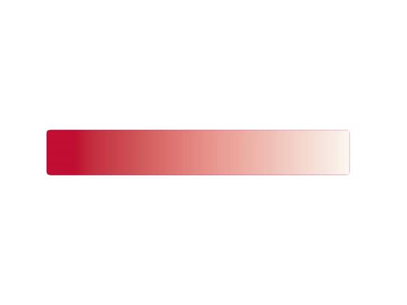 Jive II Side Upper Front Red Short Stripe Decal product image