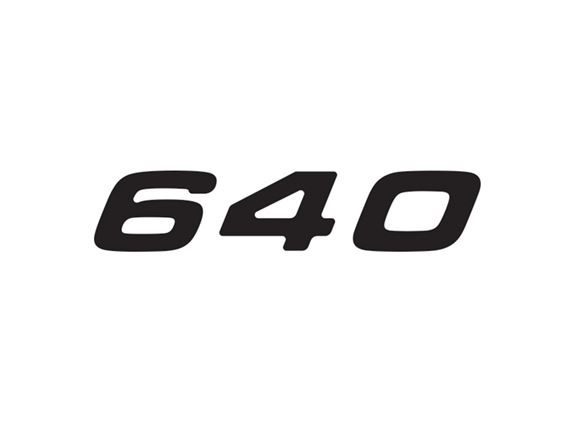 Phoenix 640 Number Decal product image