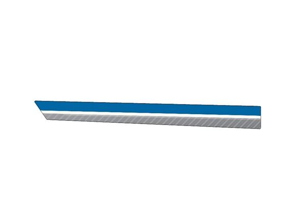 PX1 Platinum O/S Main Side Stripe Decal product image