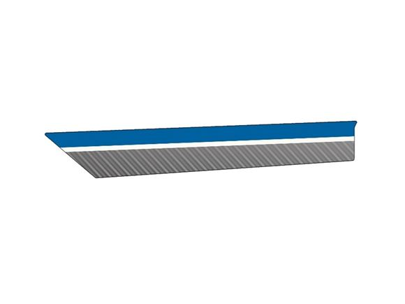 PX1 Platinum N/S Main Side End Stripe Decal A product image
