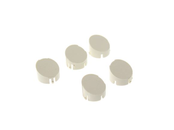Cream Wheel Spat Set Screw Caps No. 1-5 product image