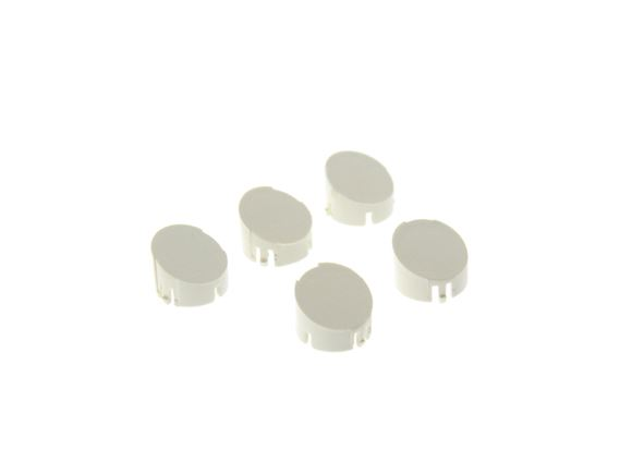 Alu-tech Wheel Spat Set Screw Caps No. 1-5 RAL9001 product image