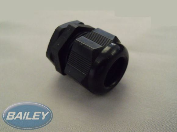 Hellerman NGM25-BLK Gland 10mm x M25 Black product image