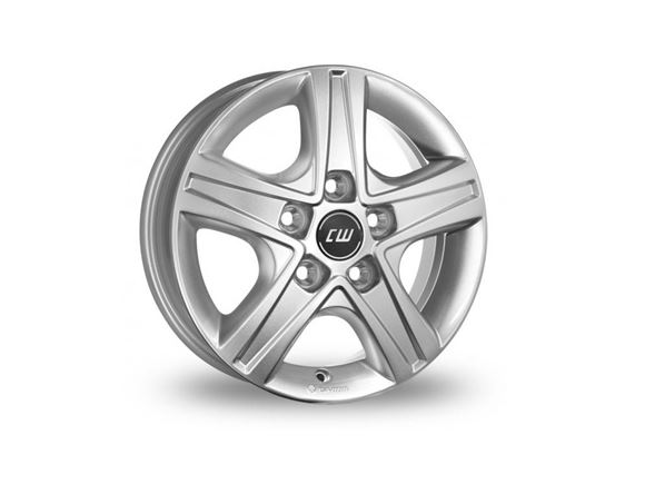 "15"" Borbet Silver Alloy Wheel Rim Set of 4 product image"