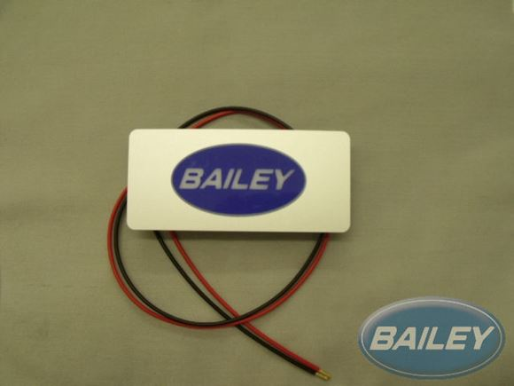 LED step light with Bailey logo product image
