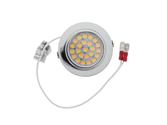 LED 12v Chrome Silver Downlighter product image