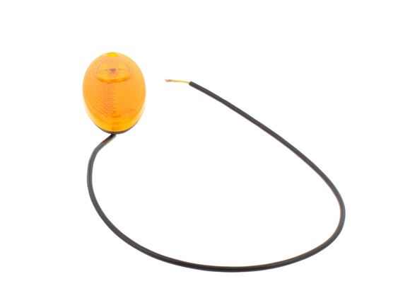 Oval Amber Side Marker Light With Tails product image