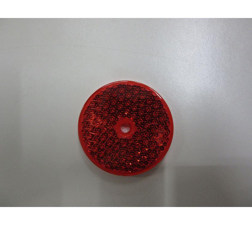 Round Red Reflex Reflector 60mm Prima Leisure