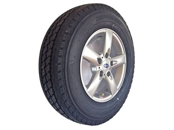 UN4 185/80 R14 102R TPMS Alloy & Wheel Tyre product image