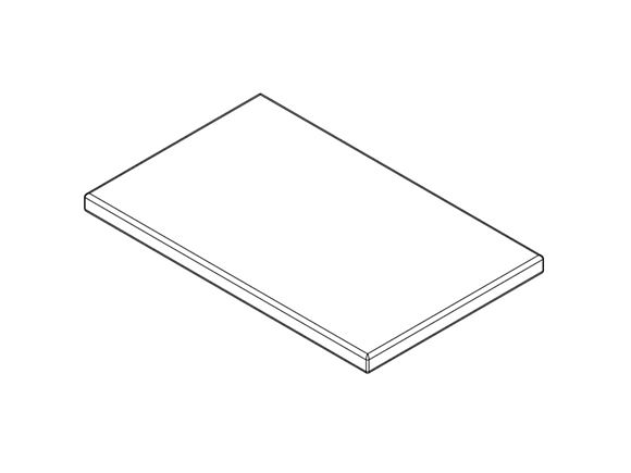 AH2 79-6 Drop Down Bed Mattress 1960x1220x110mm product image