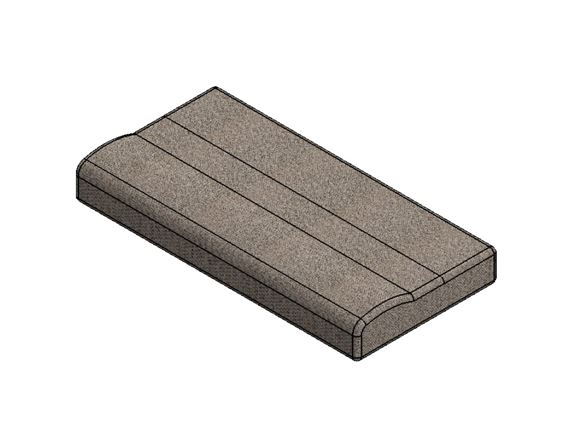 AG1 O/S Front Bunk Base Cushion Farringdon A product image