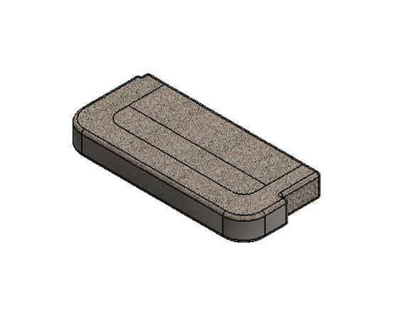 Read more about AH3 N/S Seat Base Cushion - Portobello product image