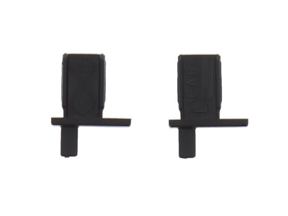 Remis Black Blind Pegs / Spiggots ( Pair ) product image