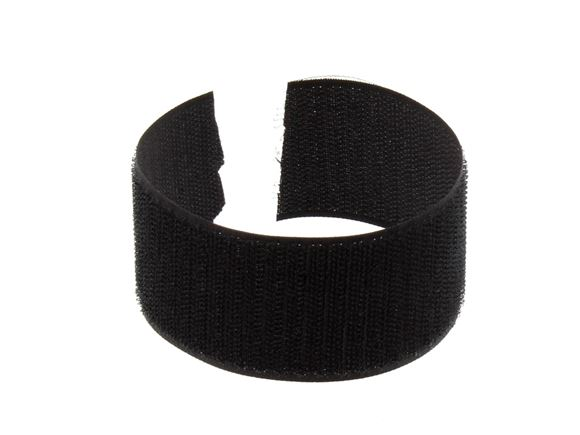 Read more about UN4 Male (Hook) Velcro 50 mm Black self adhesive product image