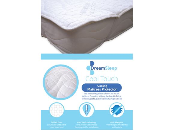 Dream Sleep Cool Touch Mattress Protector (Single) product image