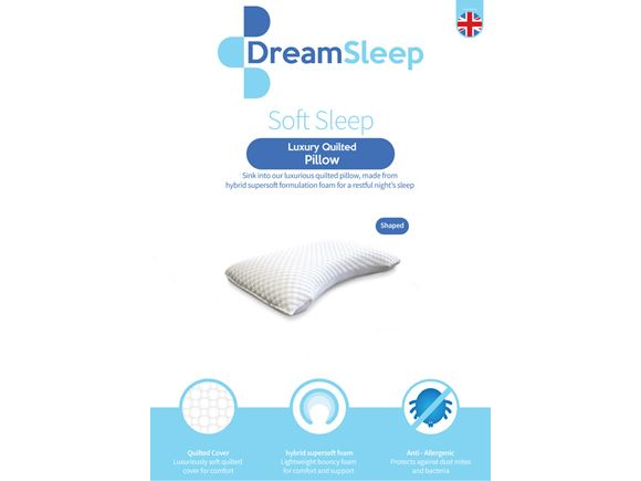 Memory Foam Shaped Pillow product image