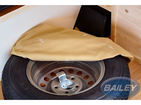 Pursuit & Pursuit II Spare Wheel Cover product image