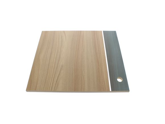 AE1 665 R/H Kitchen Door 474x411 mm Mendip Ash product image