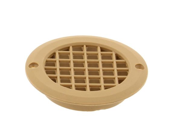 Beige 75mm Round Short Tail Vent  730sqmm product image