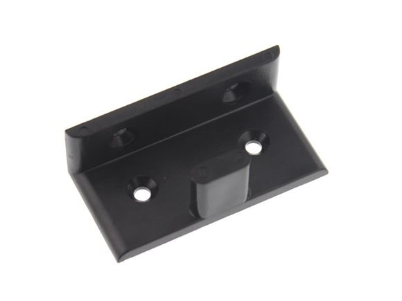 Black Sliding Door Guide 60x30x20mm product image