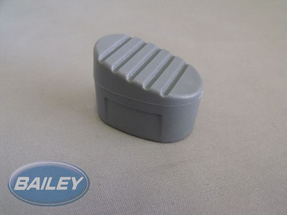 Grey Angled Rubber Feet for STLA Bunk Ladder product image