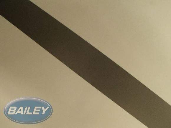 S6 Ranger Silver Single Stripe Decal 25mm product image