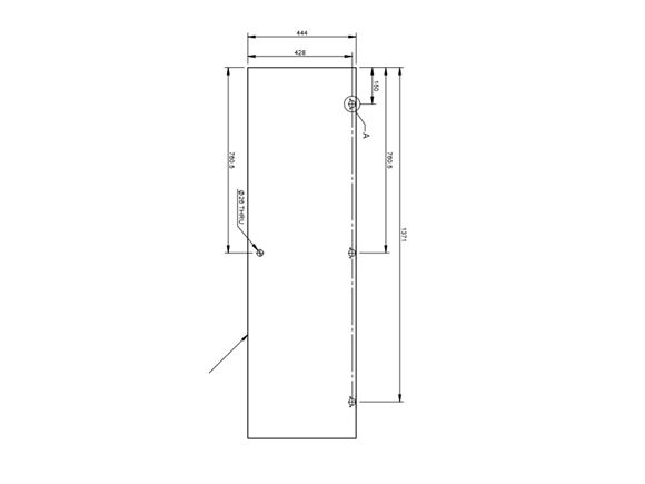 Autograph II 75-2 75-4 Robe Door (Revision A03) product image