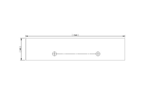 Pursuit II (Various) O/S Front Bunk Face Panel product image
