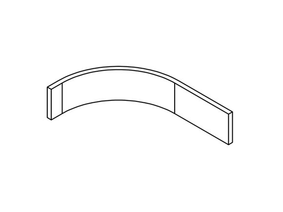 UN4 Fixed Bed Locker Corner Header (Revision A02) product image