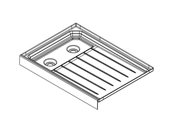 Read more about UN4 AH2 Shower Tray product image
