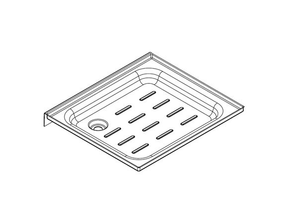 UN4 TC Shower Tray (End) product image