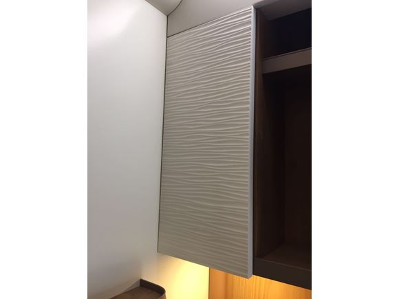 AH2 79-6 TV White Locker Door 447x197x15mm product image