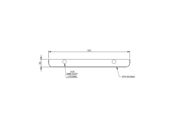 AH2 79-4 79-4T 79-6 TC Washroom Door Header product image