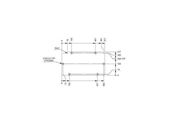 AH2 794 N/S Seat Box Section - Foor Panel product image