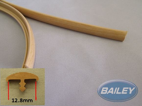 "12.8mm ""T"" Barb - Foiled Pear per metre product image"
