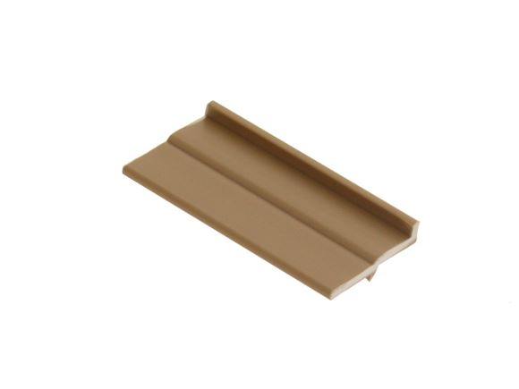 PVC Door Catch Receiver 50 mm Walnut product image
