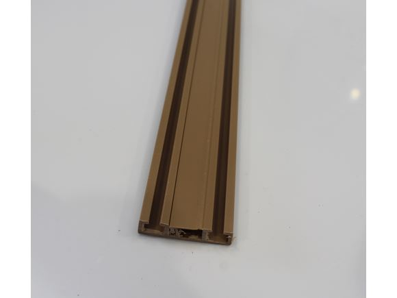 Curtain Track 2 m Walnut product image