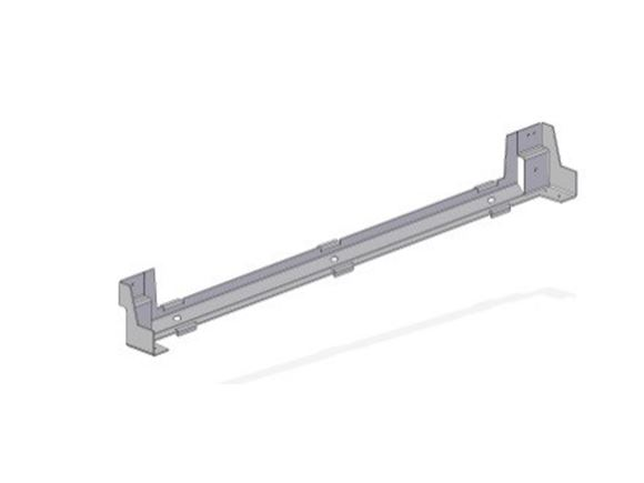 Auto II 79-6 Drop Down Bed Black Wall Bracket product image