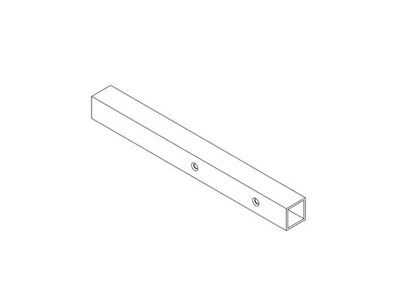 AE2 25x25mm MS SHS Table Extention Arm product image