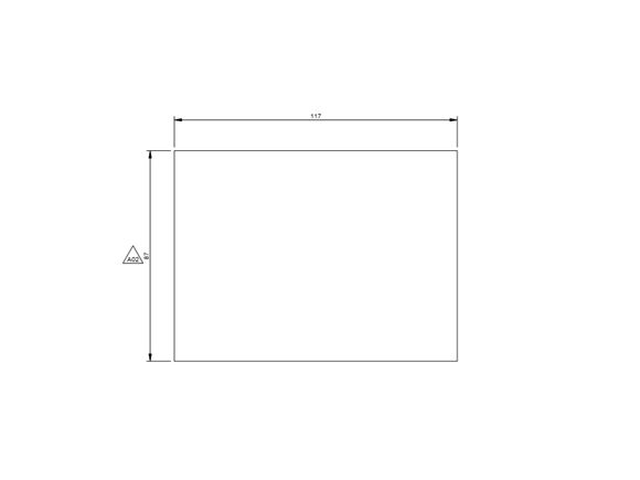 PX1 Bedroom Sliding Door Spacer product image