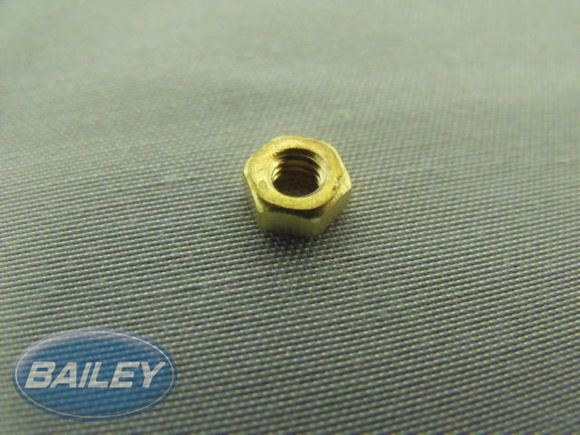 M4 Hex Full Nut Brass  product image