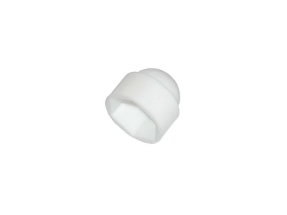 M6 White Nut Cover product image