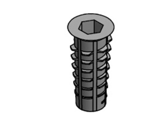 CONE SHAPE D INSERT NUT M6 x 13.0mm  product image